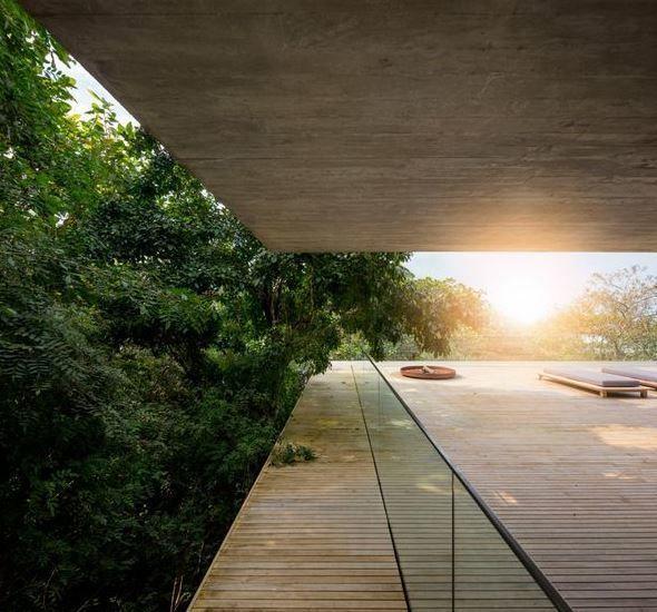 Pura arquitectura y decoraci n minimalista en la jungla - Arquitectura y decoracion ...