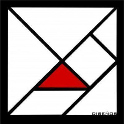 Foto del perfil de tangram diseños