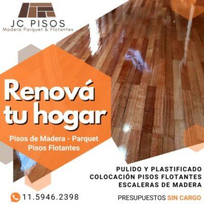 Foto del perfil de JC PISOS DE MADERA