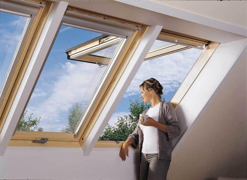 Gpl la ventana para techos ideal para ampliar sus vistas for Velux apertura