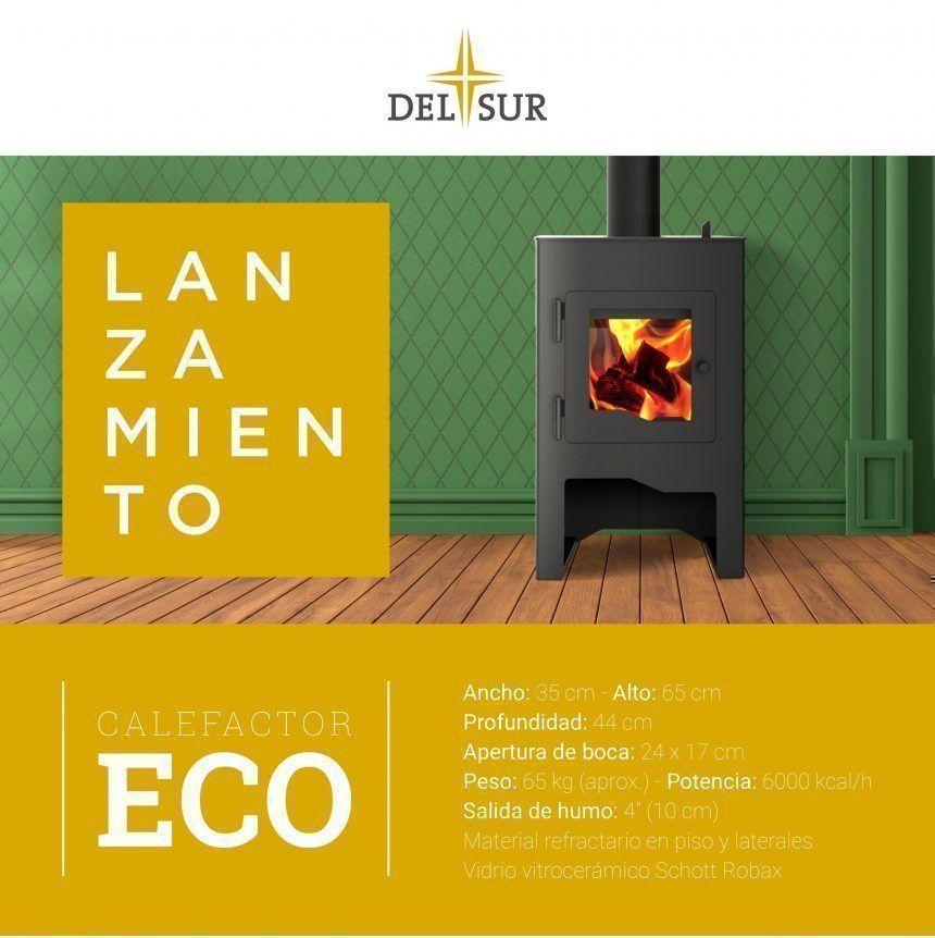 Lanzamiento Calefactor Eco, por Tromen