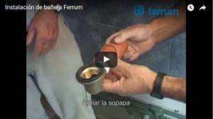 Instalación de bañera Ferrum