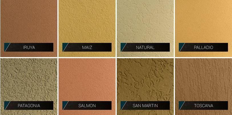 Colores de revestimientos acr licos y cementicios por for Colores beige para paredes exteriores