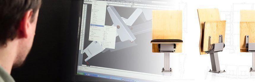 Conocé el proceso de diseño de butacas y asientos Rassegna