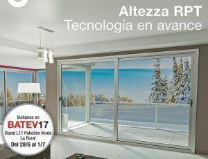 ALUAR invita a su conferencia Altezza RPT, en BATEV17