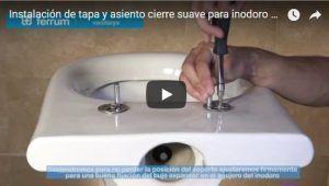 Instalación de tapa para inodoro Ferrum Murano
