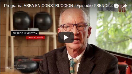 Programa Área en Construcción, episodio Sistema Prenova