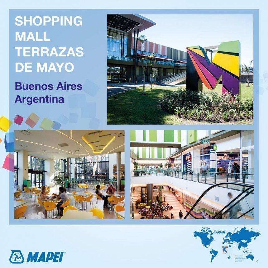 Shopping Mall Terrazas De Mayo Utilizó Para Su Construcción