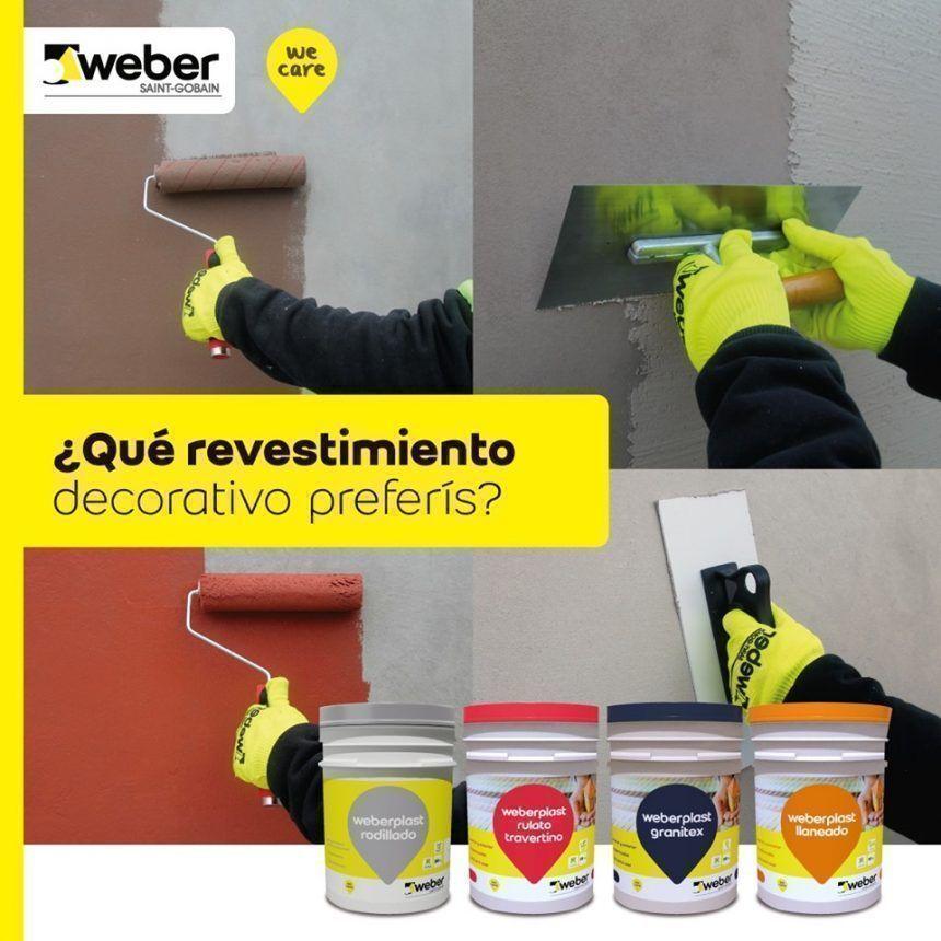 ¿Qué revestimiento decorativo preferís?, por Weber