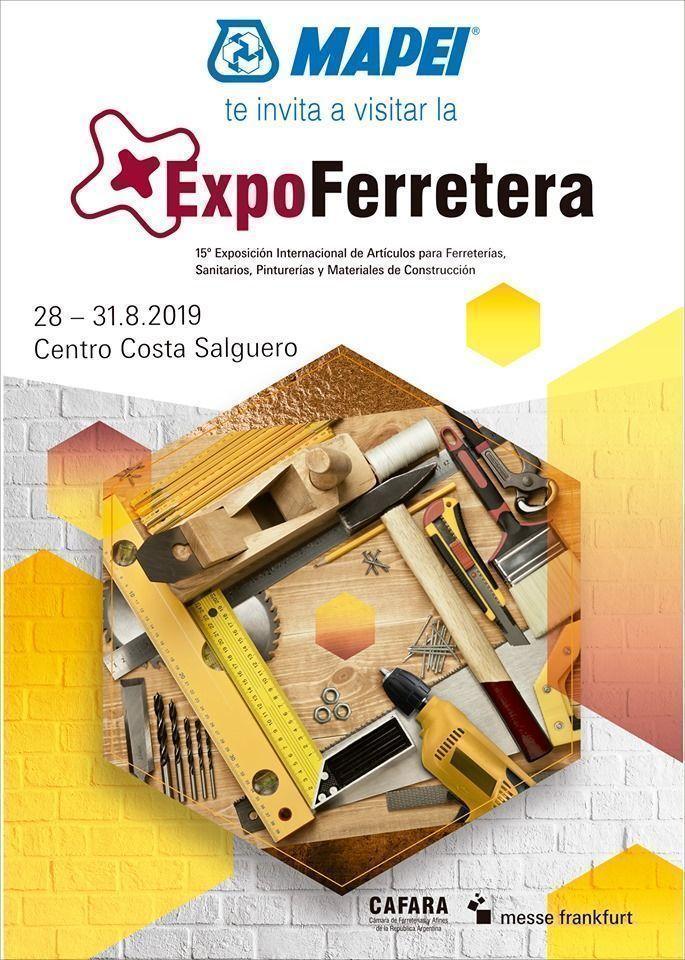 Mapei te invita a visitar la ExpoFerretera 2019