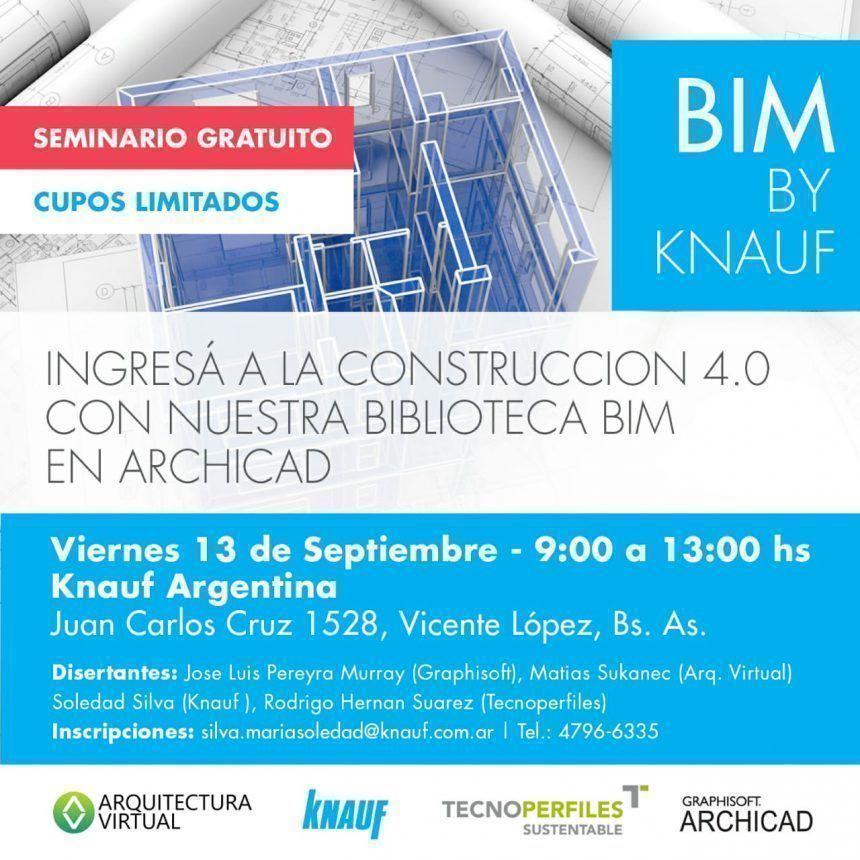 Graphisoft te invita al seminario gratuito sobre BIM