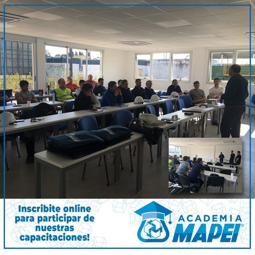 Academia Mapei te invita a participar de sus capacitaciones
