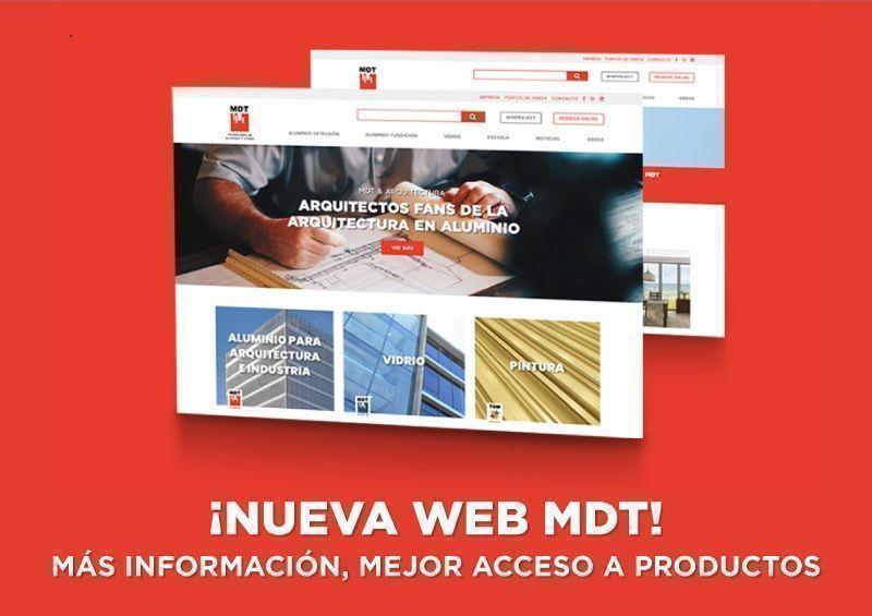 nueva web MDT