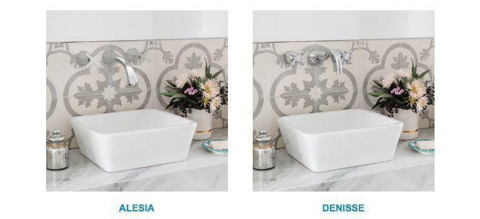 Griferías para un baño romántico, de FV