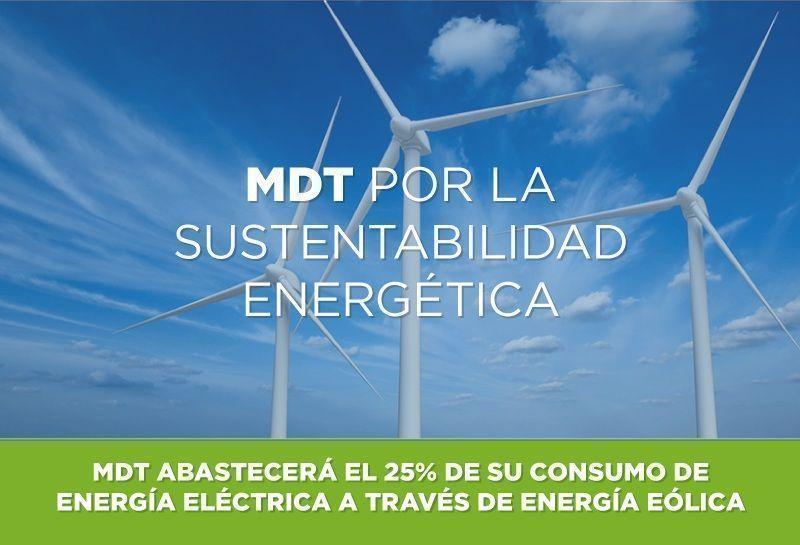 MDT comprometida con el medio ambiente