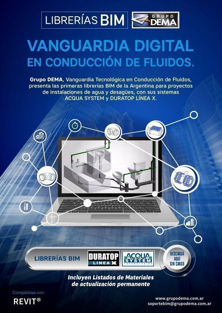 Vanguardia digital: librerías BIM, de Grupo Dema
