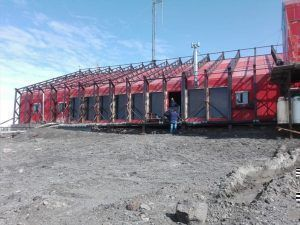 Segunda etapa de modernización y optimización energética de la Base Marambio