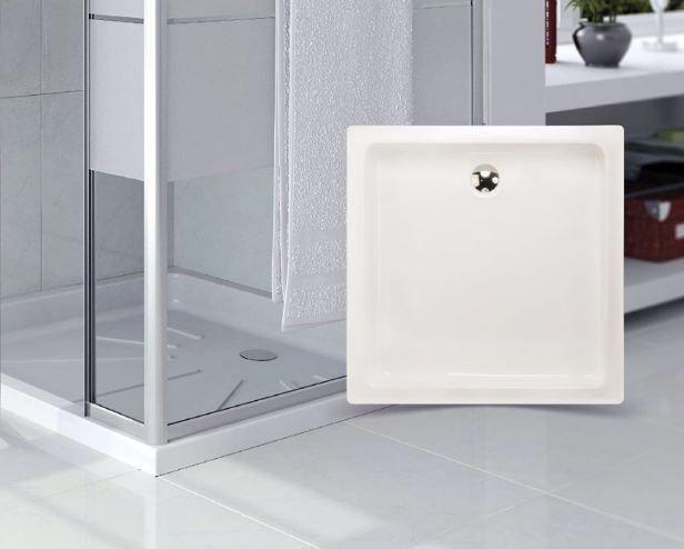 Texturas confortables en platos de ducha Shawer