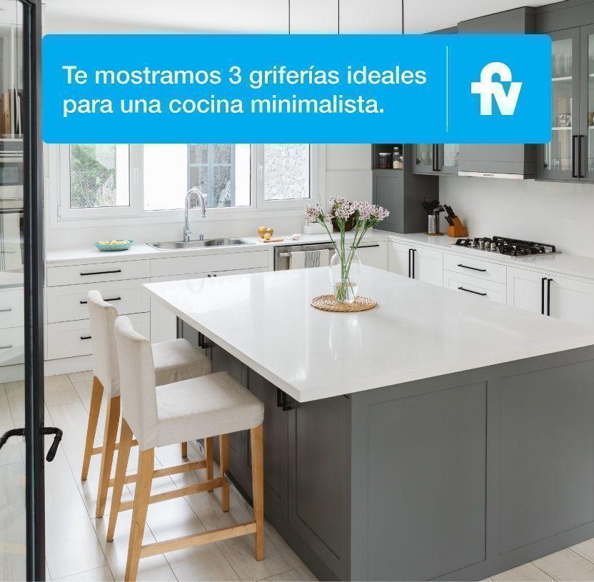 Renovación de cocina con un toque minimalista