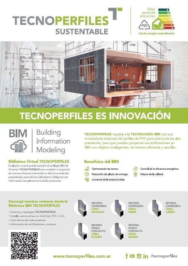 TECNOPERFILES participa del BIM TOUR 2020