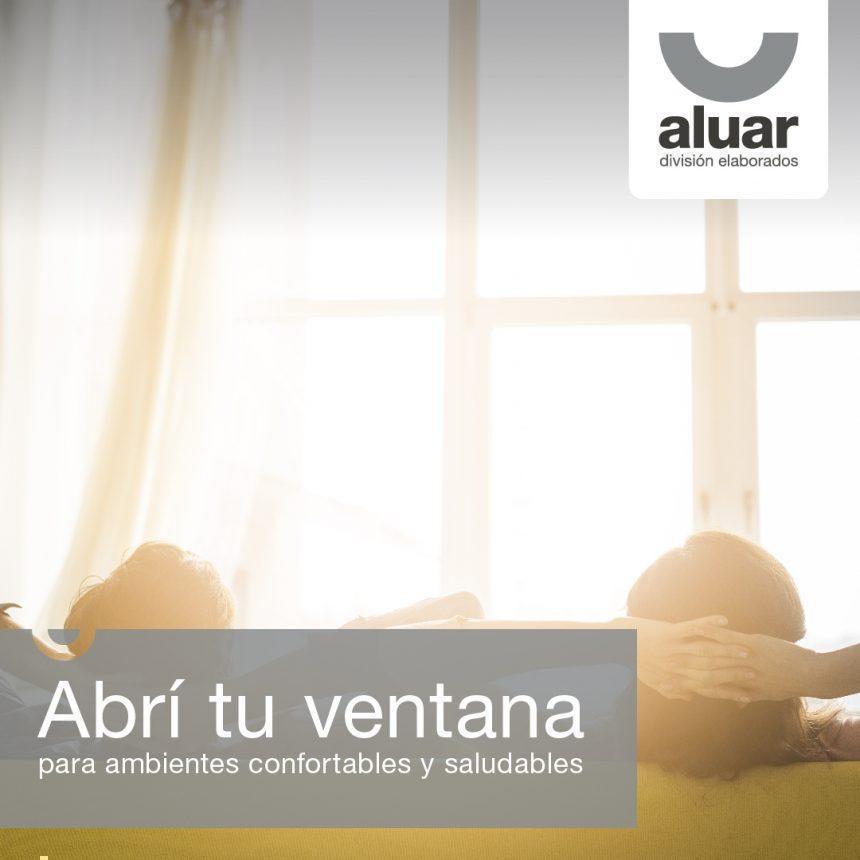 Abrí tu ventana para ambientes confortables y saludables
