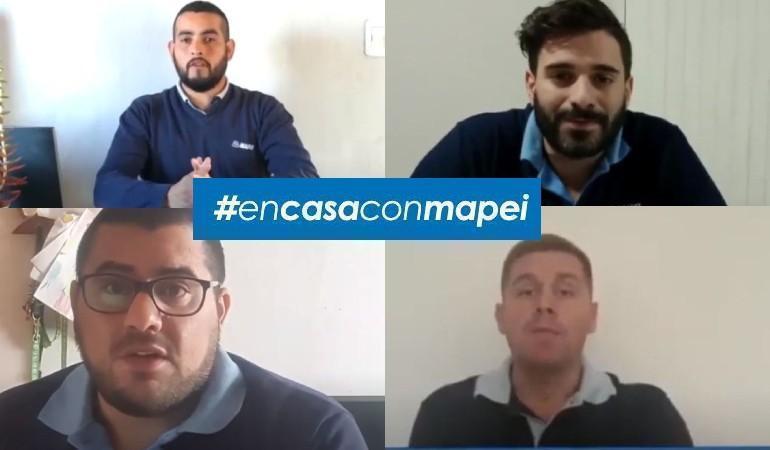 5 nuevos videos de En casa con Mapei