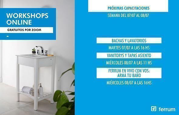 Workshops online de Ferrum: segunda semana de julio