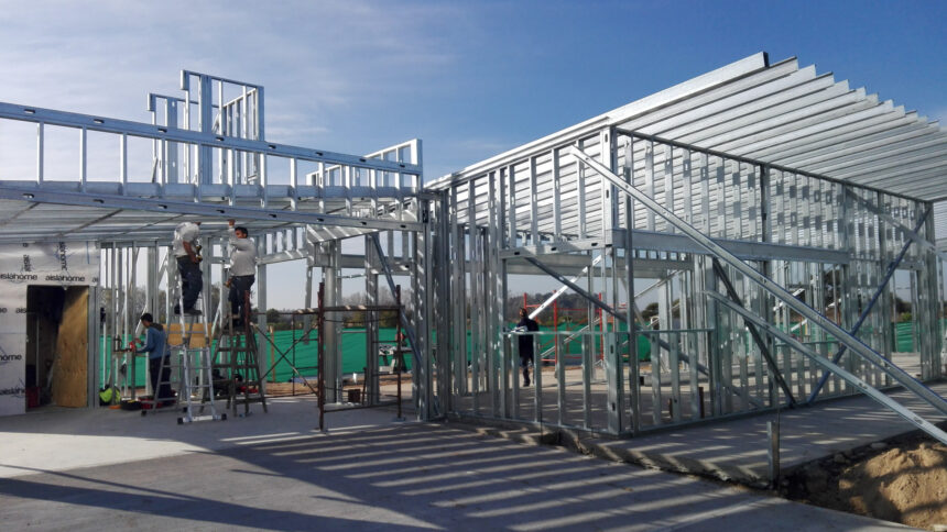 Vivienda contemporánea de Steel Frame en Luján