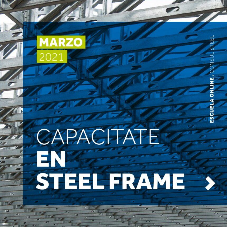 Capacitaciones en Steel Frame 2021