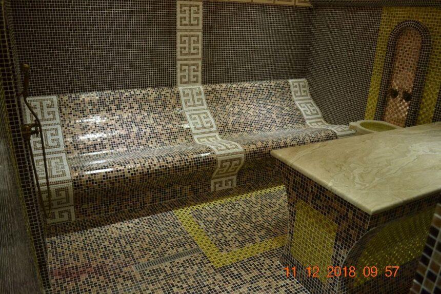 Zona de Spa Sultán en el DoubleTree by Hilton en Tumen