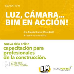 TECNOPERFILES presente en Bimetica con sus productos & objetos BIM