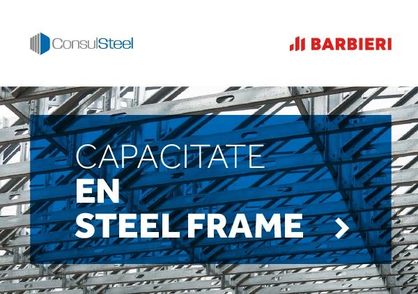 Capacitaciones en Steel Frame en mayo 2021