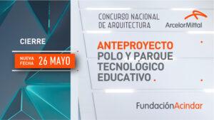 Avances sobre el CONCURSO PARA ARQUITECTOS: «Polo y Parque Tecnológico Educativo» de Fundación Acindar