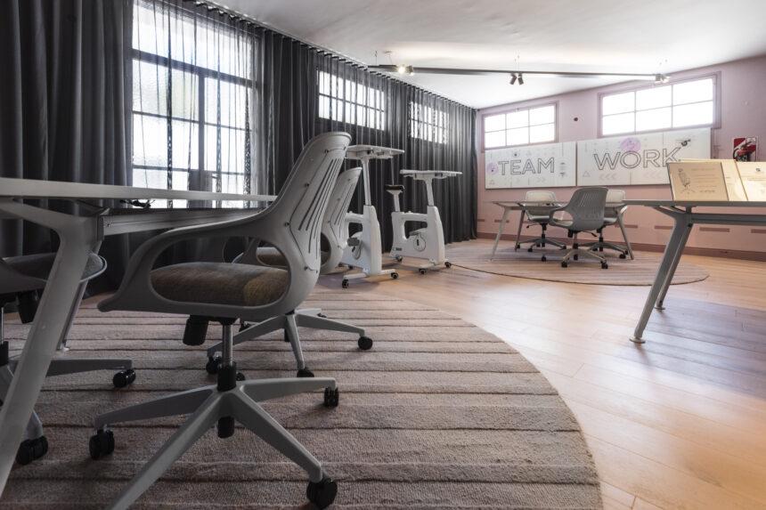 Reinventar el espacio de trabajo para la oficina