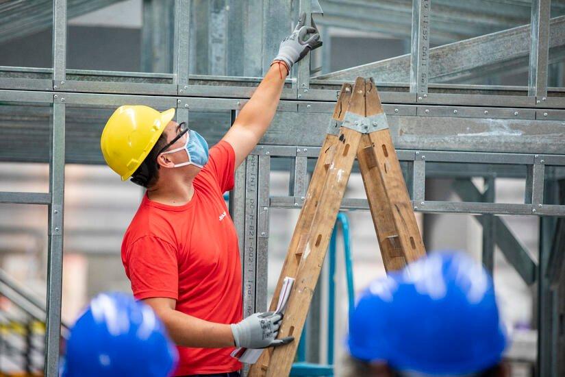 Elementos de Protección Personal (EPP) en obras con Steel Frame