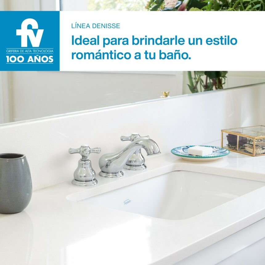 Brindale un estilo romántico a tu baño con Denisse