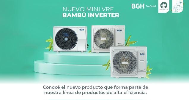 BGH Eco Smart presenta su nuevo Mini VRF Bambú Inverter