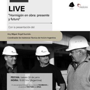 LIVE: «Hormigón en obra: presente y futuro»