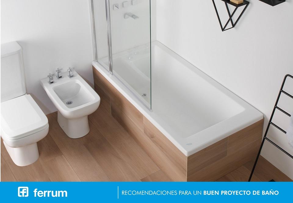 Recomendaciones para un buen proyecto de baño