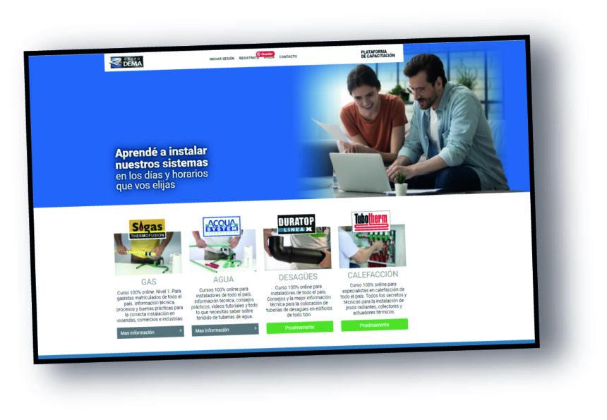 Nueva plataforma de capacitación online de GRUPO DEMA