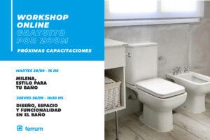 Workshops de Ferrum del 28 al 30 de Septiembre