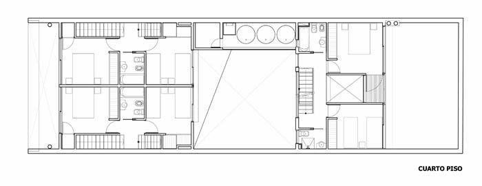 planta 4to. piso