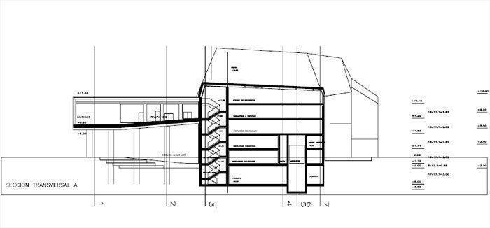 seccion transversal A