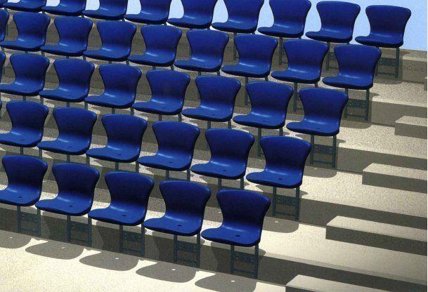 Stadium seatshell FCB-S. Technical specifications