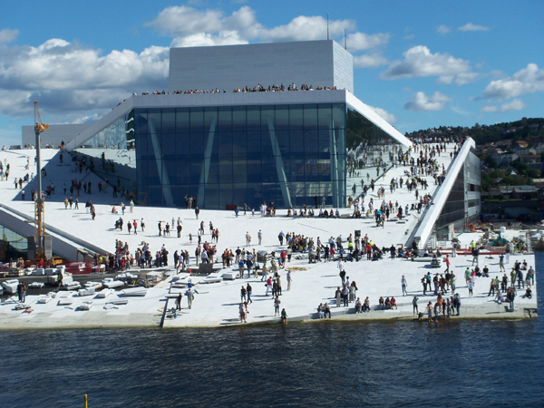 """Open day"", august 07 	- credit Snøhetta"