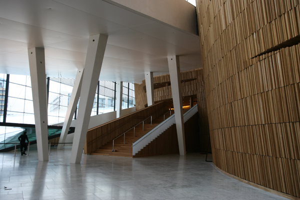 Foyer – credit Snøhetta