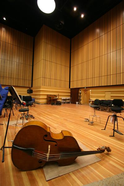 Orchestra rehearsal room – credit Snøhetta