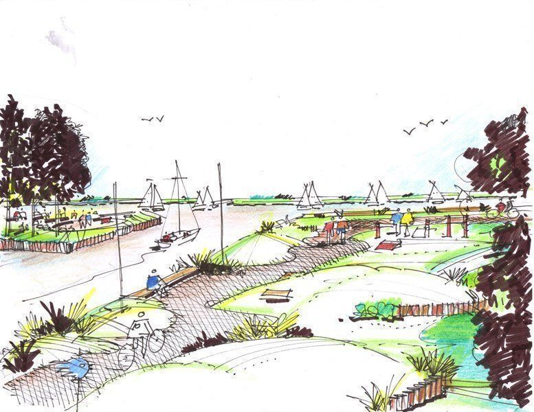 Dibujo Parque Náutico
