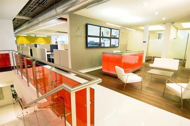 Oficinas corporativas alsea arqa for Interiorismo oficinas