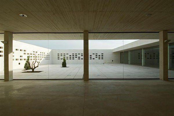 Museo Institucional de Madinat al-Zahra, Córdoba - Vista patio interior
